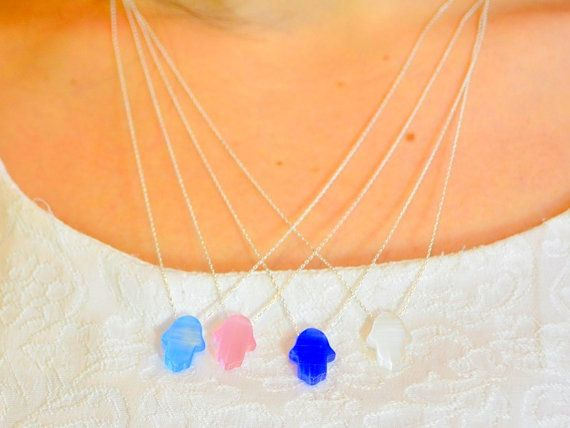 CATSEYE SILVER #HAMSA #Necklace, gemstone pendant, khamsa, jewich,gemstone, hamsah, five fingers, hand hamsa necklace, #turkish amulet, fertility necklace, lucky pendant, turkish nazar