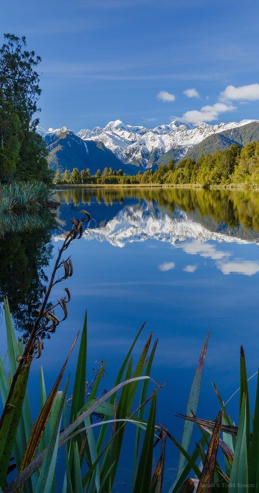 Lake Matheson, Westland National Park - NZ