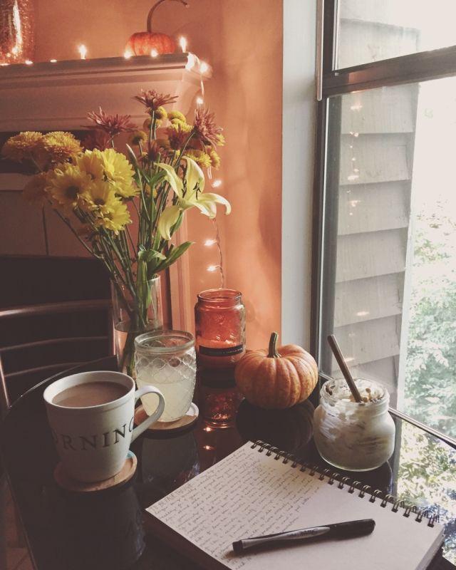 Cozy corner for fall