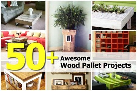 50+ Awesome Wood Pallet Projects