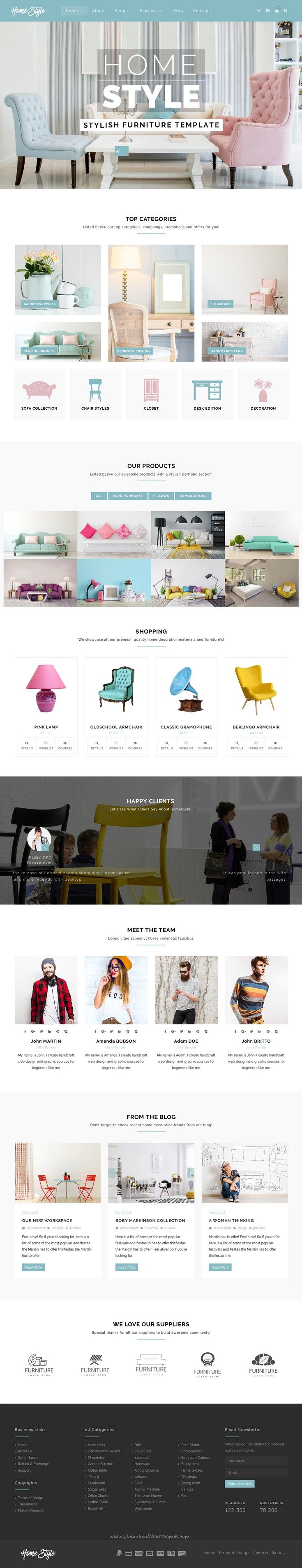 HomeStyle is a stylish Bootstrap template for  furniture  shop  home  decoration  Interior. Best 25  Furniture websites ideas only on Pinterest   Web design