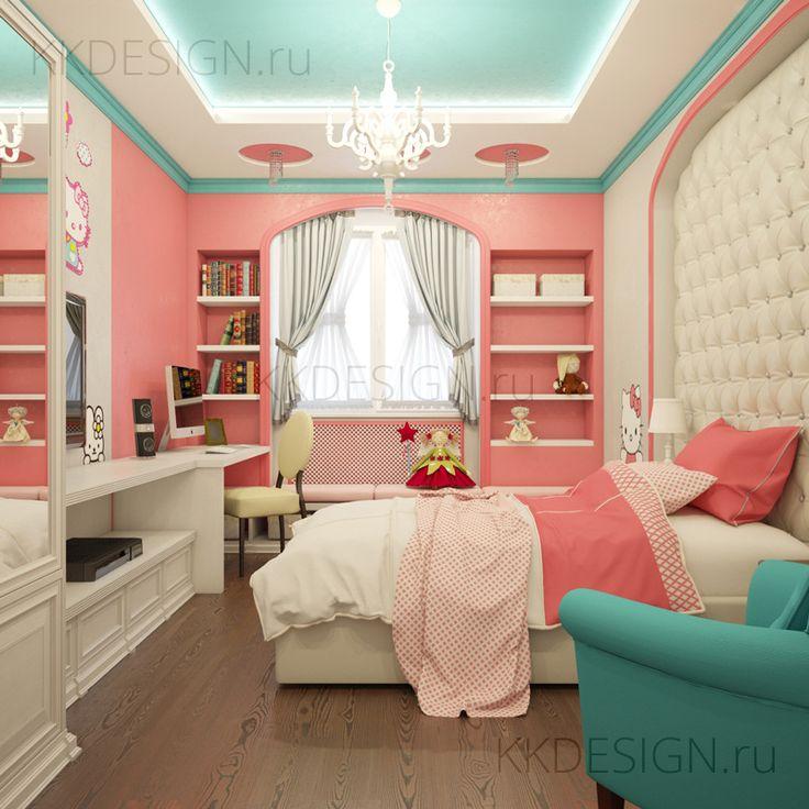 Детская комната для девочки | Girl's room - K Design