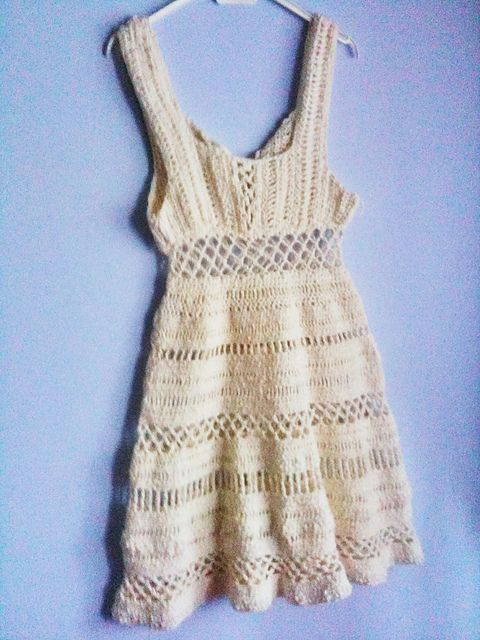 Summer Dress - part of the roundup of 10 free crochet dress patterns for women!