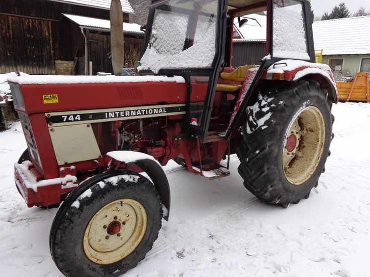 Traktor Schlepper IHC 744 S Kabine | eBay
