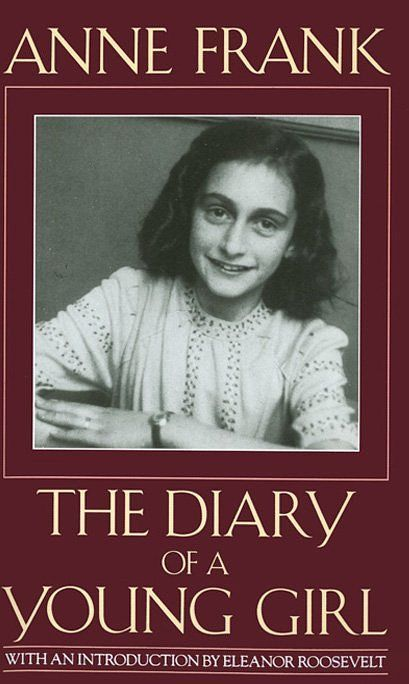 """""""The Diary of a Young Girl"""", by Anne Frank - challenged for being 'too depressing'."""