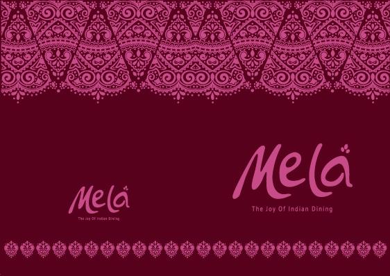 Mela menu cover