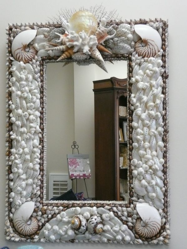 Shell Mirrors - Seashore Chic