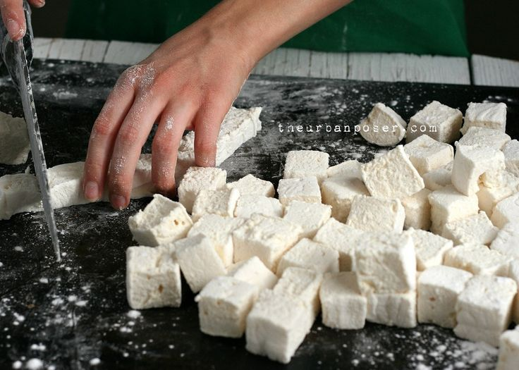The Urban Poser:: Rustic Homemade Marshmallows W/Honey (Gluten/Corn/Egg/Dairy Free)