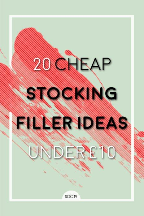 Great guide for cheap stocking filler ideas! all under £10