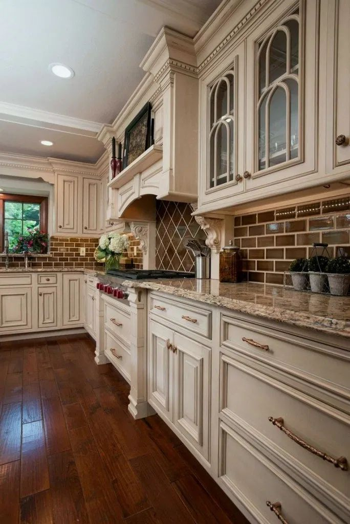 36+ Fancy French Country Kitchen Design Ideas | French ...