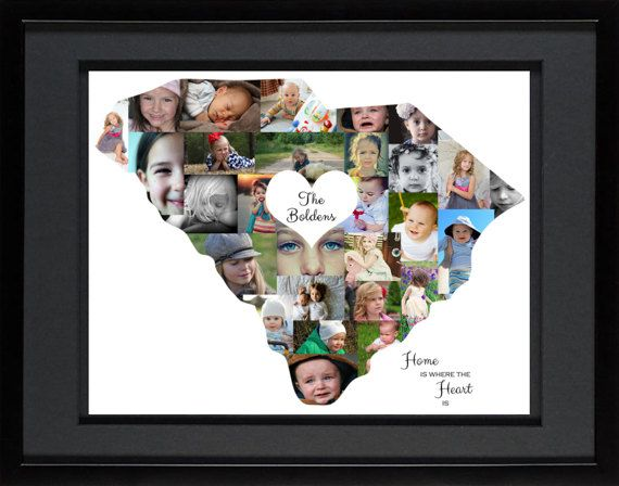 Artsy Einstein Designs has leveraged the boundaries that define our state to come up with this South Carolina Photo Collage. We love to show our state patriotism and this is piece is a great way to display it. Add the carolina wren spotted in your backyard, a yellow jessamine flower blossoming in your garden, an eastern tiger swallowtail butterfly landing upon your lantana. Add whatever your want, its the beauty of our product. We combine your interest with artwork that appeals to you.