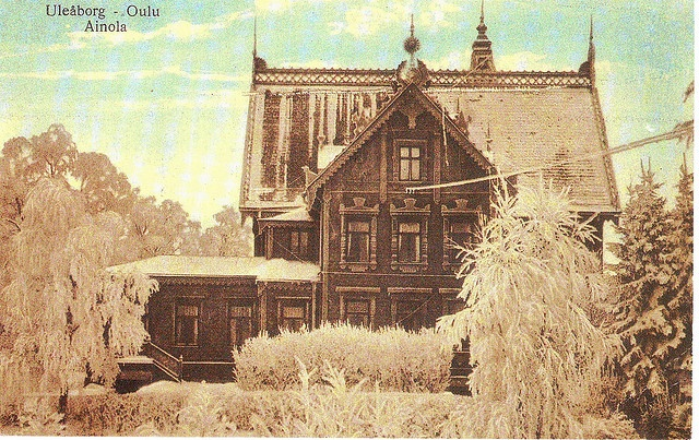Old Finnish postcard