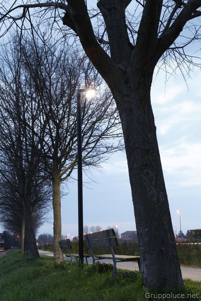 Comune di Rovigo illuminazione pista ciclabile