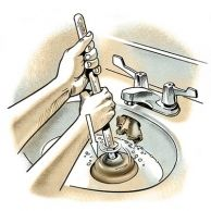 2. Unclog a Sink: Try this First