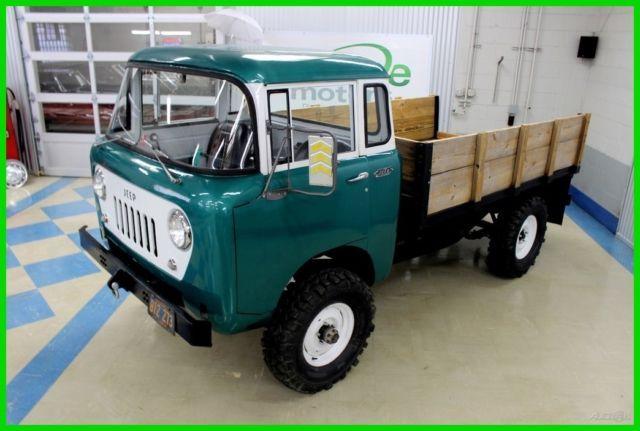Willys Jeep Overland Kaiser Forward Control Rare Restored Barn