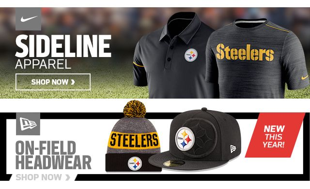 Pittsburgh Steelers Gear - Buy Steelers Nike Jerseys, Hats, Apparel & Merchandise at NFLShop.com