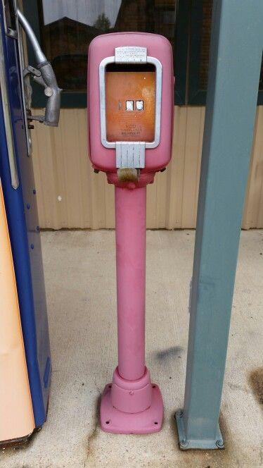 On ebay vintage original Eco gas station air meter
