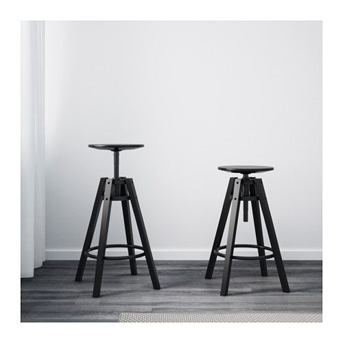 IKEA DALFRED bar stool You can adjust the height as you like.