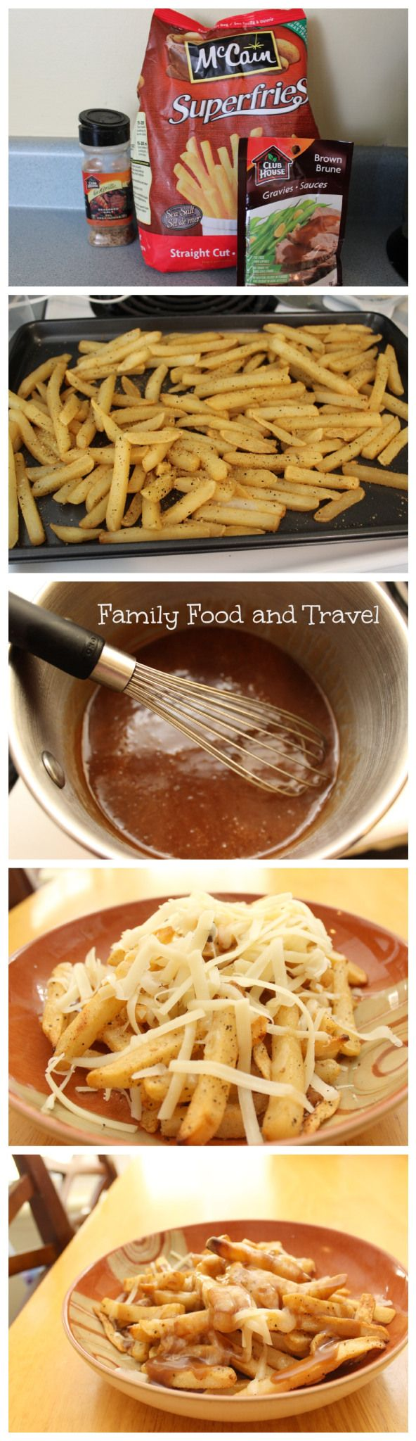 Easy Homemade Poutine - Family Food And Travel
