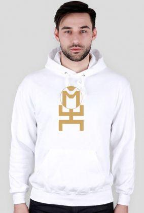 Bluza z kapturem ze złotym logo MORUS