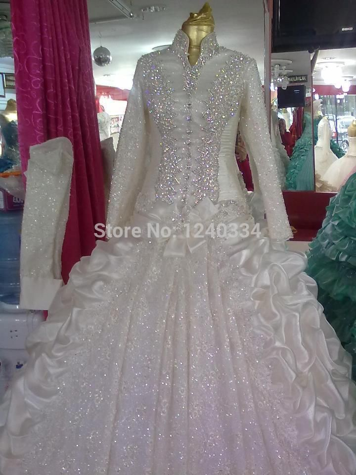 140250 islamic wedding dress