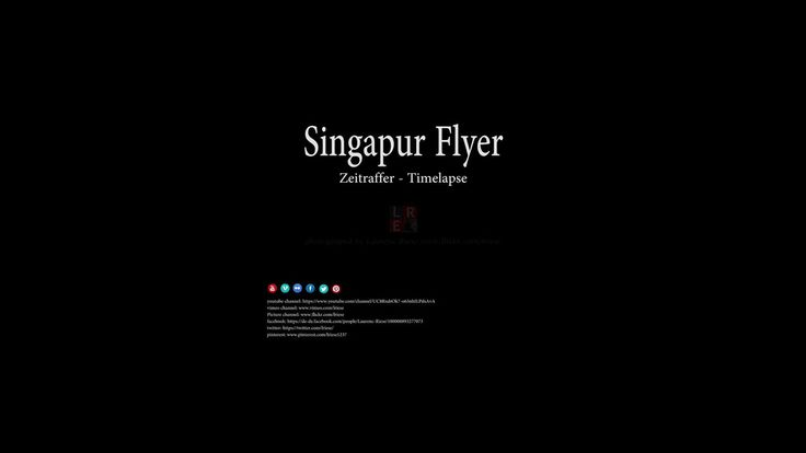 https://flic.kr/p/BbV27C | Singapur Flyer - Zeitraffer/Timelapse | Please don't use this image on websites, blogs or other media without my explicit permission. © All rights reserved