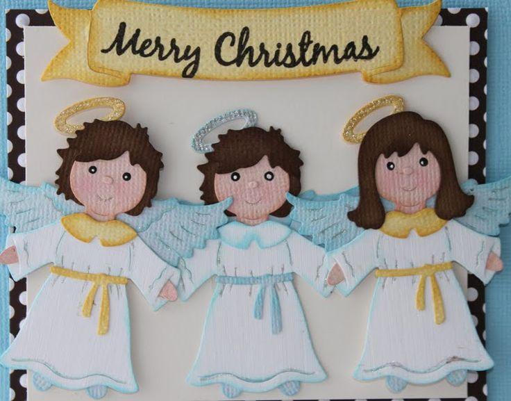 nativity angel cottage cutz - Cerca con Google