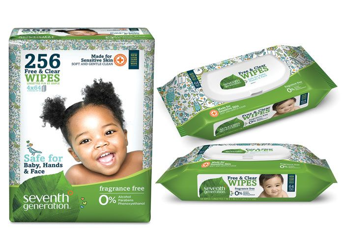 Free & Clear Wipes