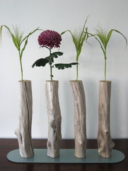 DIY Driftwood Planter