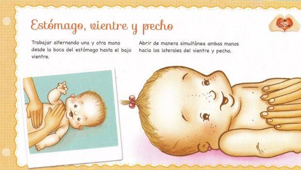 Shantala, masajes para bebes.