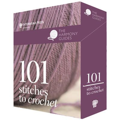 New to #crochet? Get this @Interweave Press-101 Stitches To Crochet-Card Set. You'll learn everything you need to know!