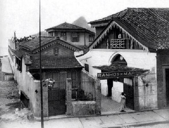 Casa de Banhos na rua Santa Luzia, Rio de Janeiro