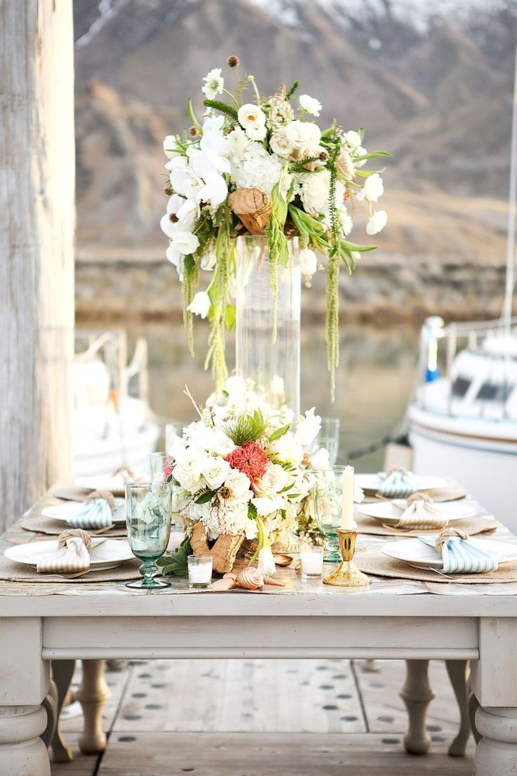 Old Fashioned Nautical Centerpieces For Wedding Component - The ...
