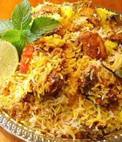 Hyderabadi Biryani is a very famous type of biryani which has its origin in the Nizam's State of Hyderabad, India. Hyderabadi biryani is very popular not only in India but outside the India too.