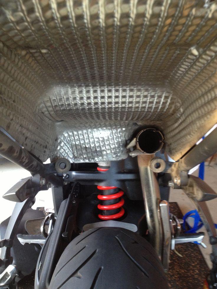 Trident Exhaust upgrade