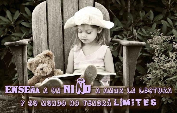 enseña a un niño a amar la lectura