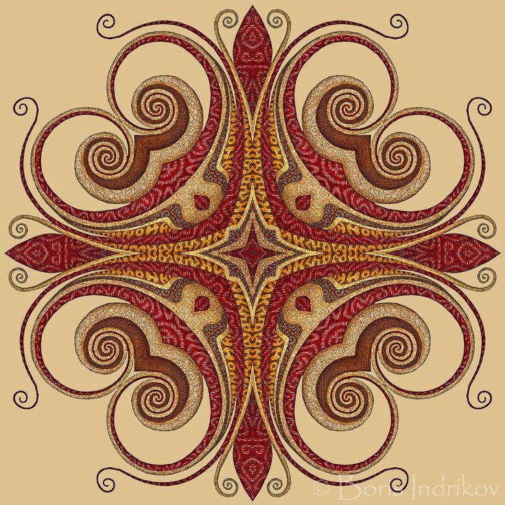 SUR-Deco ornament project http://www.indrikov.com/surdeco/surdeco.html