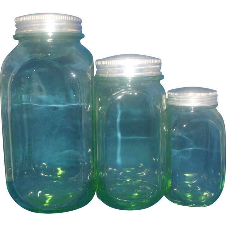182 best depression glass images on pinterest for Kitchen set zink