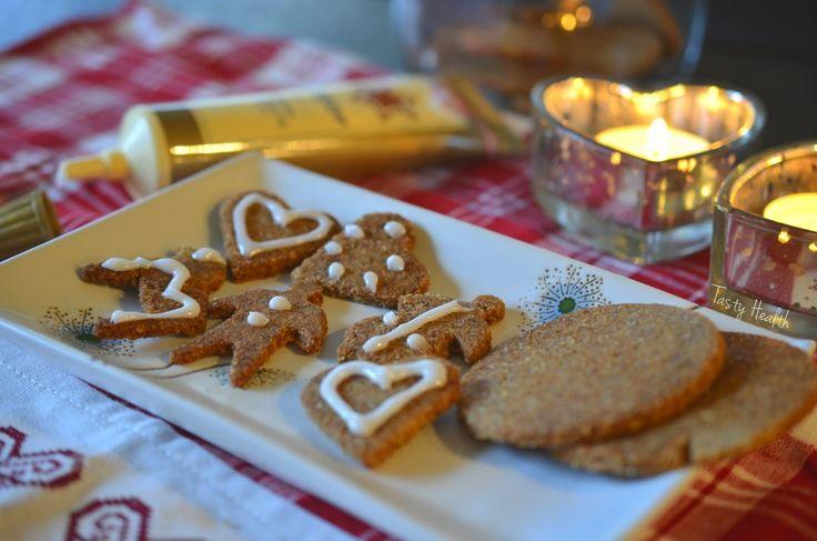 Tasty Health: Årets godaste socker- och glutenfria pepparkakor