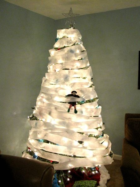"""100 Mischievous Elf Ideas... Paul and I saw an """"Elf on the Shelf"""" book at Target and it has become a constant source of amusement and jokes. We are going to have so much fun with this when we have kids!"""