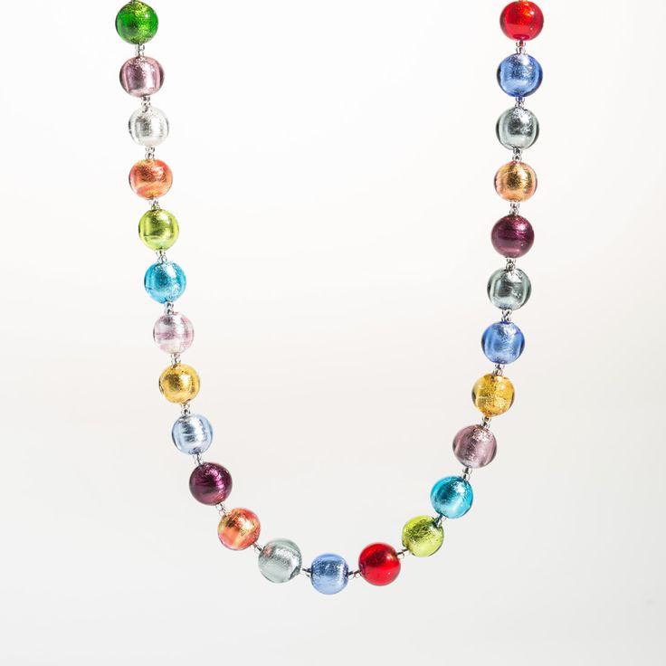 Classica Necklace - Venetian Murano Glass Jewellery for Australia - www.italianheart.com.au