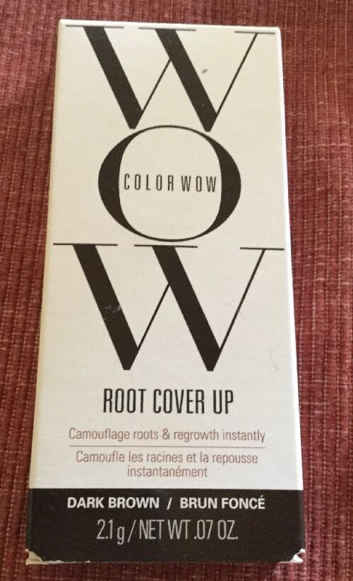 Color Wow Root Cover Up Dark Brown 2.1g/0.07 oz | eBay