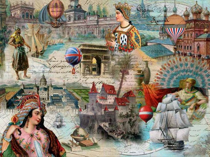 """""""The World- Majestic Kingdoms"""" designed by Finchley Paper Arts Ltd and manufactured by Sunsout Inc."""