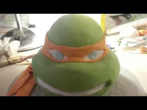 ▶ teenage mutant ninja turtle cake (tmnt) - YouTube