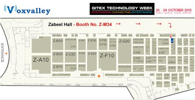 """Voxvalley Technologies will be present at the """"GITEX – Dubai 2013"""" Technology Event from Oct 20th – 24th.  Voxvalley will be unveiling its """"Cu…"""