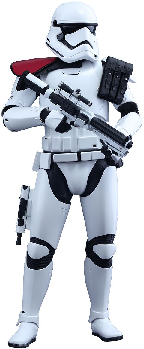 Hot Toys First Order Stormtrooper Officer Sixth Scale Figure