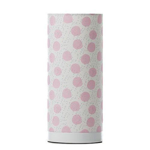 Jessie K Lamp Pale Pink Spot