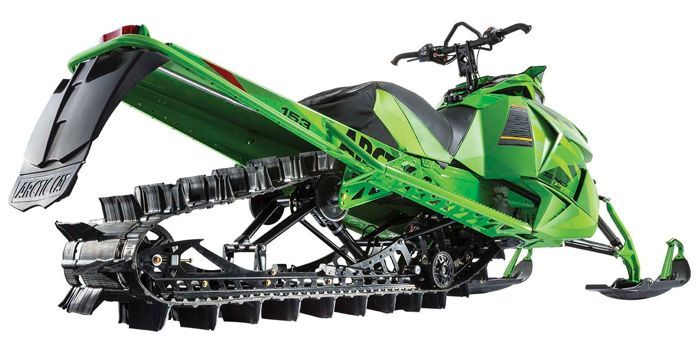 Arctic Cat M Track Removal