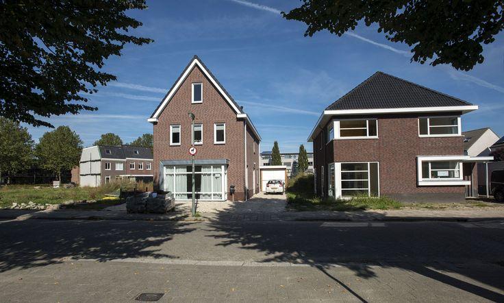 Zelfbouwwoningen aan het Johanna Naber erf in Stadspolder - Foto Ronald van den Heerik