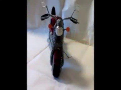 Moto Shadow in Amigurumi